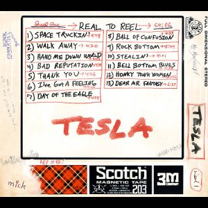 Tesla - Real to Reel cover art