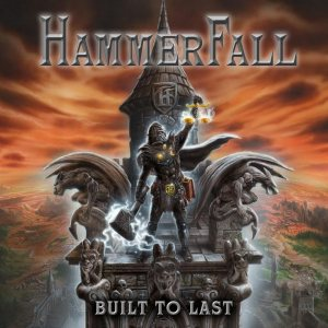 HammerFall - Built to Last cover art