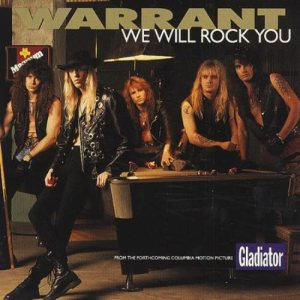 Warrant - We Will Rock You cover art