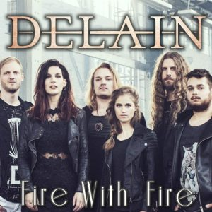 Delain - Fire with Fire cover art