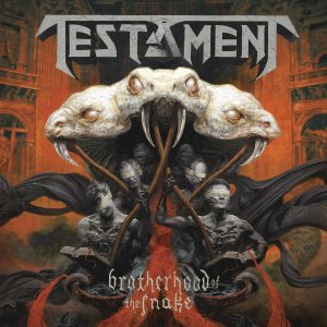 Testament - Brotherhood of the Snake cover art