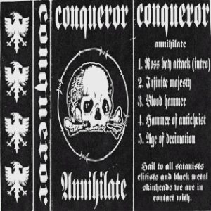 Conqueror - Annihilate cover art