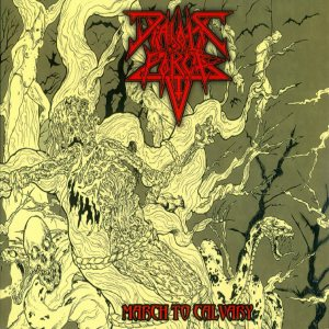 Diabolic Force - March to Calvary cover art