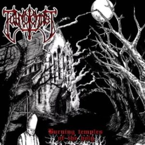 Putrid Christ - Burning Temples of the Holy cover art