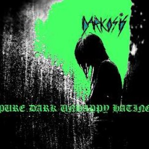 Darkosis - Pure Dark Unhappy Hating cover art