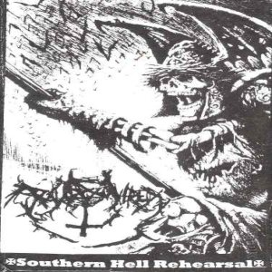 Raw Hatred - Southern Hell Rehearsal cover art