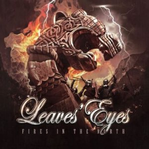 Leaves' Eyes - Fires in the North cover art