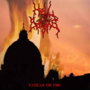 Hell Spyke - Vatican on Fire cover art