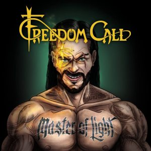 Freedom Call - Master of Light cover art