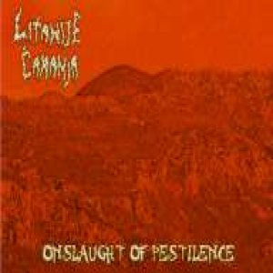 Litanije Čaranja - Onslaught of Pestilence cover art