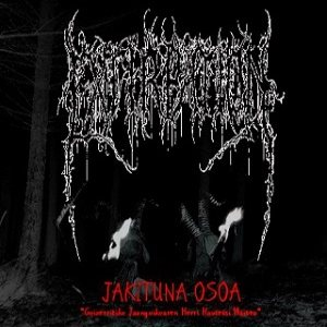 Extirpation - Jakituna osoa cover art