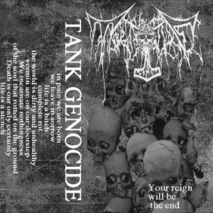 Tank Genocide - Your Reign Will Be the End cover art