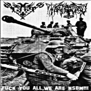 Tank Genocide / 1389 - Fuck You All, We Are NSBM!!! cover art