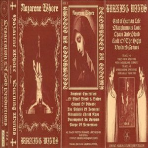 Burning Winds / Nazarene Whore - Decomposed in Sodomy cover art