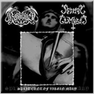 Kerberos / Sadistic Grimness - Split Cunt of Virgin Mary cover art