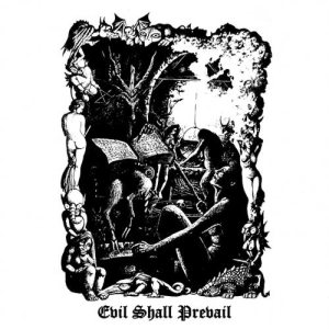 Black Witchery - Evil Shall Prevail cover art