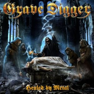 Grave Digger - Healed by Metal cover art