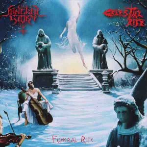 Funeral Storm / Celestial Rite - Funeral Rite cover art