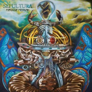 Sepultura - Machine Messiah cover art