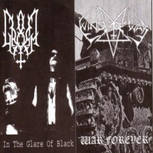Gromm / Wings of War - In the Glare of Black / War Forever cover art