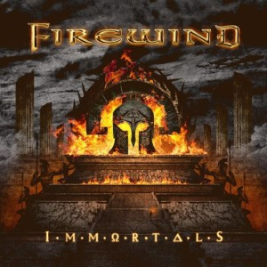 Firewind - Immortals cover art