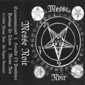 Messe Noir - The Throne of Ninninhagal cover art