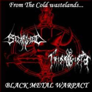 Trismegisto / Bethroned - United Black Metal Warpact cover art