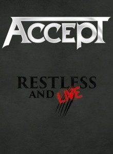 Accept - Restless & Live cover art