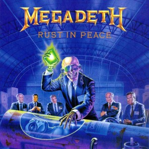 Megadeth - Rust in Peace cover art