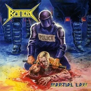 Battery - Martial Law cover art