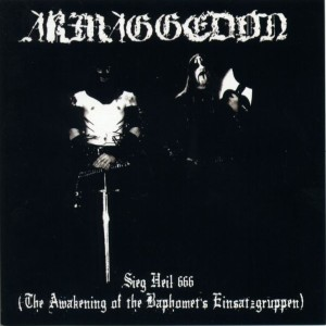 Armaggedon - Sieg Heil 666 (The Awakening of the Baphomet's Einsatzgruppen) cover art