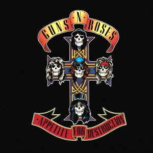 Guns N' Roses - Appetite for Destruction cover art