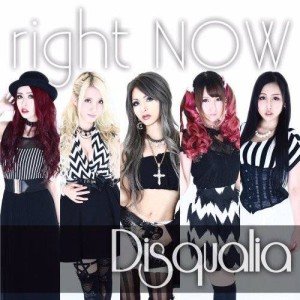 Disqualia - Right Now cover art
