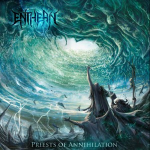 Enthean - Priests of Annihilation cover art