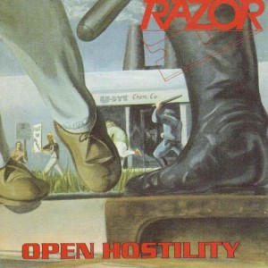 Razor - Open Hostility cover art