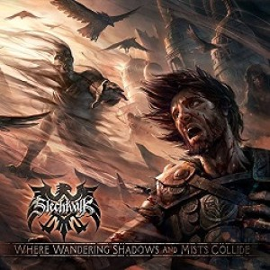 Slechtvalk - Where Wandering Shadows and Mists Collide cover art
