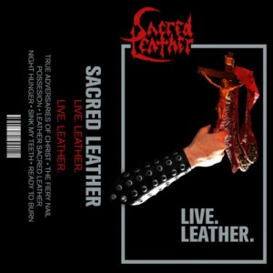 Sacred Leather - Live Leather cover art