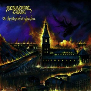 Sepulchral Curse - At the Onset of Extinction cover art