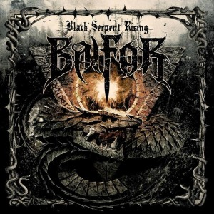 Balfor - Black Serpent Rising cover art