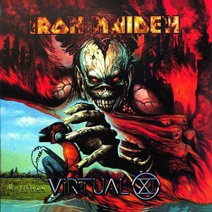 Iron Maiden - Virtual XI cover art