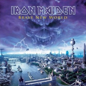 Iron Maiden - Brave New World cover art