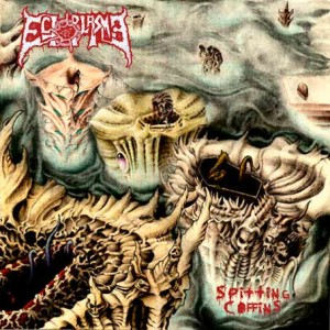 Ectoplasma - Spitting Coffins cover art