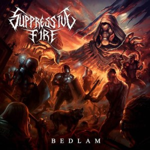 Suppressive Fire - Bedlam cover art