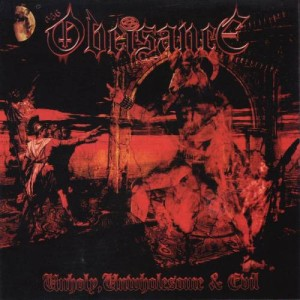 Obeisance - Unholy, Unwholesome and Evil cover art