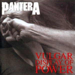 Pantera - Vulgar Display of Power cover art