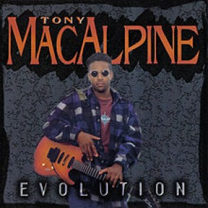 Tony MacAlpine - Evolution cover art