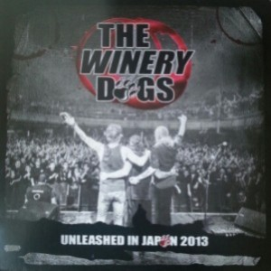 The Winery Dogs - Unleased in Japan 2103 cover art