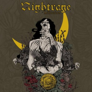 Nightrage - Affliction cover art