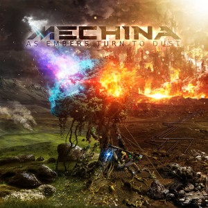 Mechina - As Embers Turn to Dust cover art