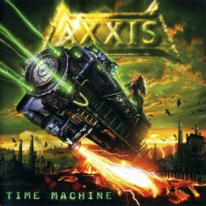 Axxis - Time Machine cover art